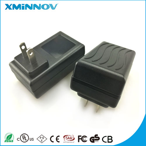 Customized AC-DC 15V 0.8A IVP1500-0800 Portable Power Supply UL