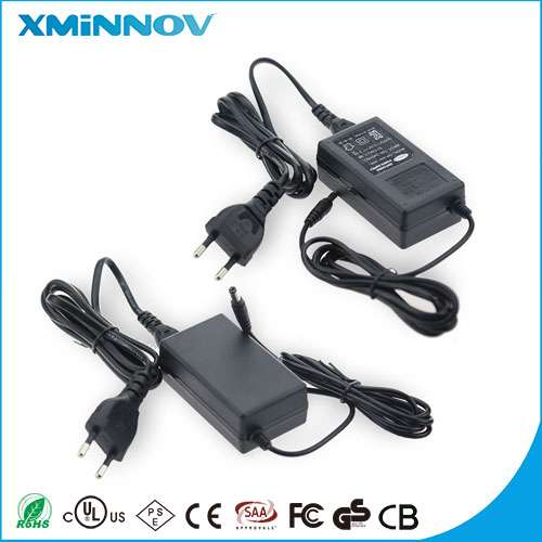 Customized AC-DC 24V 1.5A IVP2400-1500 Portable Power Supply UL