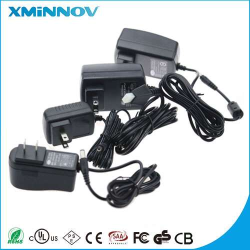 24V 0.25A  Switch Power Supply Adapter with DC connector and Certification for any country