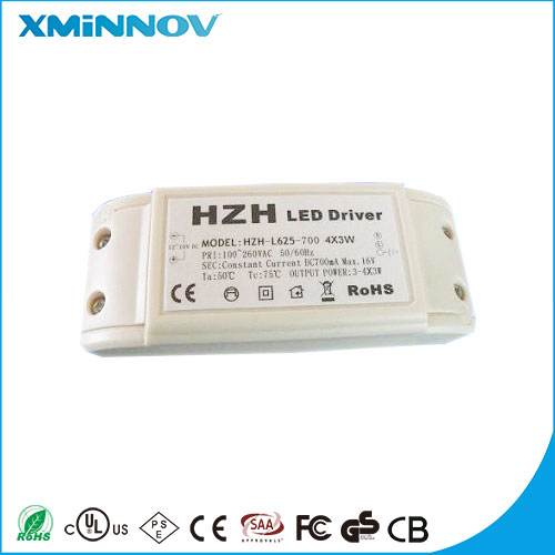 High Quality LED driver  12V 0.7A  IVP1200-0700 switch power supply with CE ROHS CCC for LED Light