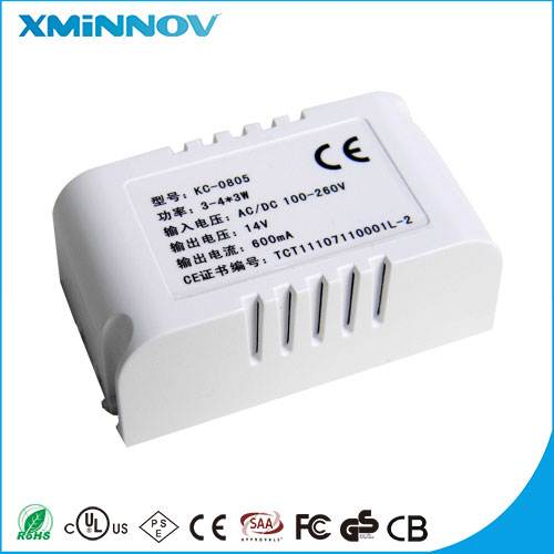 EU Plug Adapter AC 100-240V To DC 12V 0.7A  IVP1200-0700 Power Unit For 3528 5050 St LED driver   with CE ROHS for LED Light
