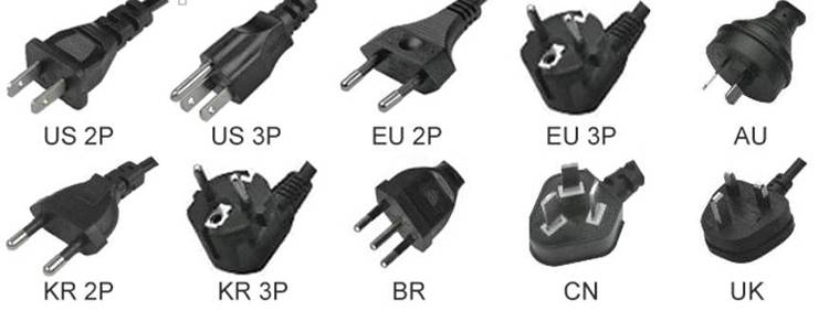 power supply AC input Plug connector